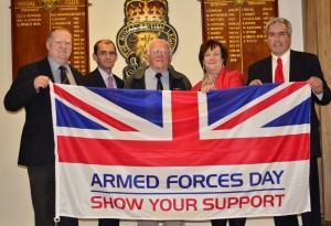 Page 4 At Prestonpans Royal British Legion to mark Armed Forces Day