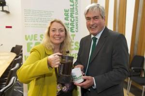 Supporting Macmillan coffee mornings
