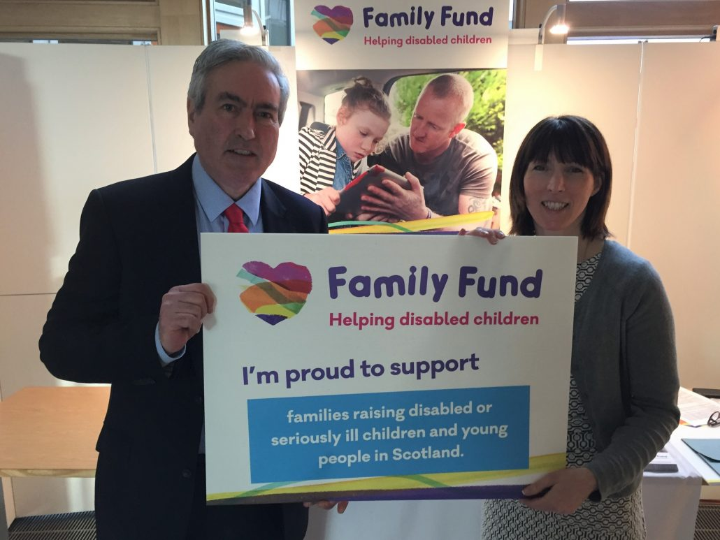 Charitable funds for disabled children